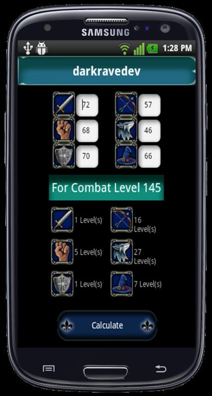 Combat Calculator